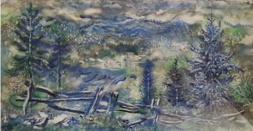 Défiscaliser avec les œuvres de Georges GROSZ, forêt