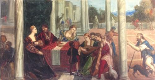Défiscaliser avec les œuvres de Gustav-Adolf MOSSA, famille noble