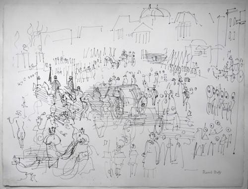 Défiscaliser avec les œuvres de Raoul DUFY, la foule