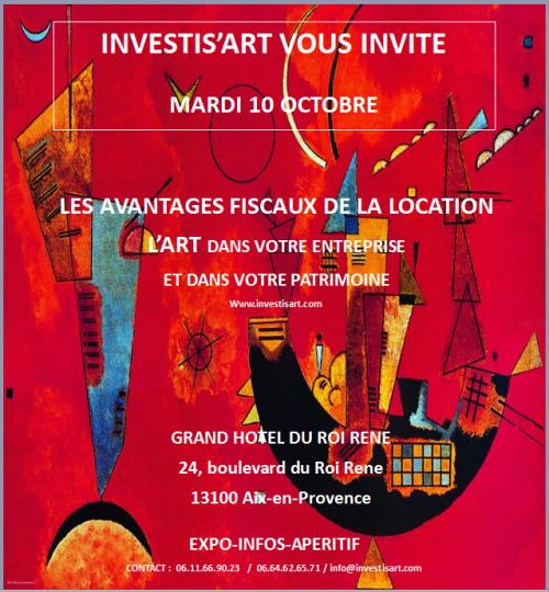 LES AVANTAGES FISCAUX DE LA LOCATION PAR INVESTIS'ART