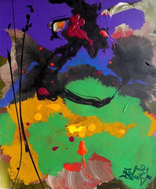 Défiscaliser avec les œuvres de François ARCHINGUILLE, peinture