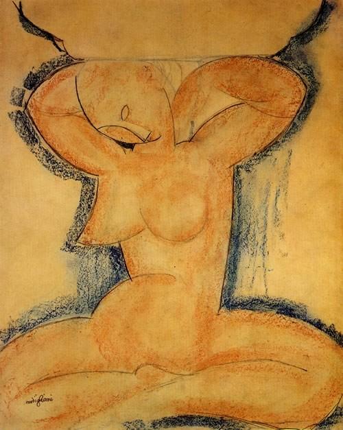 Défiscaliser avec les œuvres de Modigliani