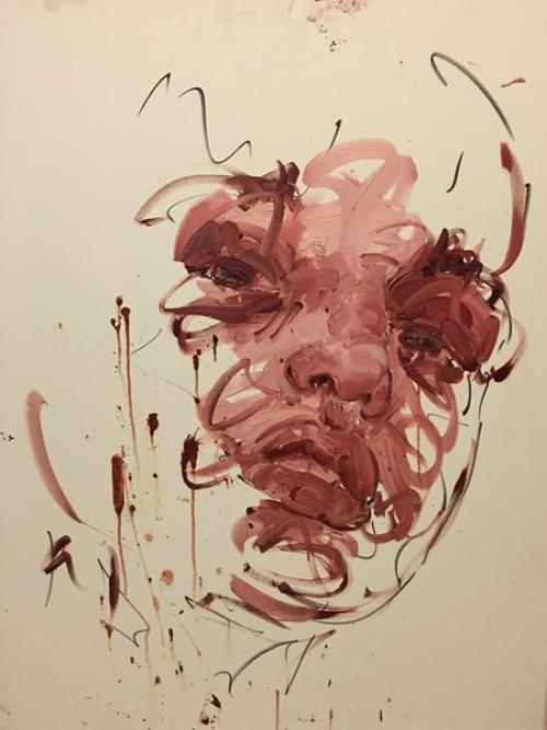 Défiscaliser avec les œuvres de Philippe PASQUA - Visage rose