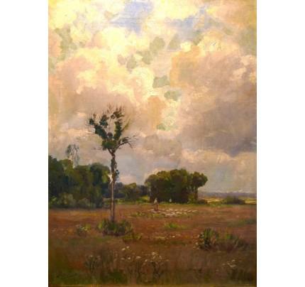 BRISSOT DE WARVILLE, paysage de campagne