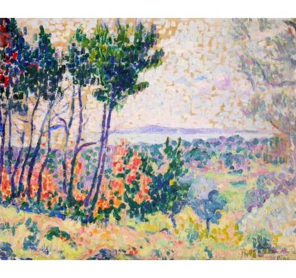 François GOS, paysage