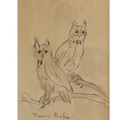 Francis PICABIA, les chouettes