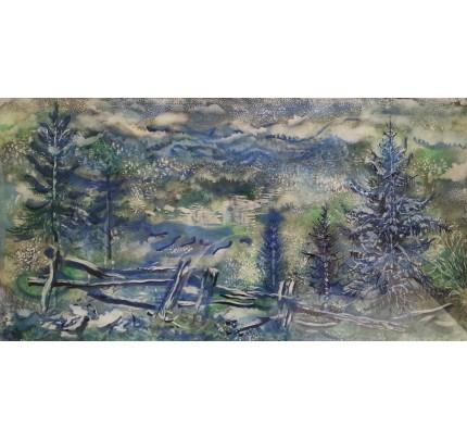 Georges GROSZ, forêt