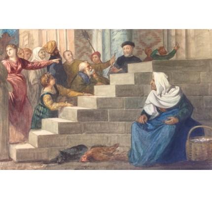 Gustav-Adolf MOSSA, festin du mauvais riche