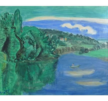 Henri HAYDEN, lac de plaisance