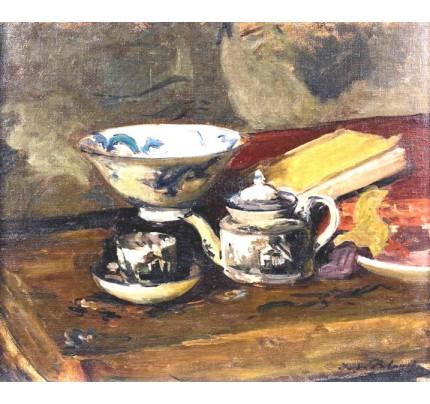 Jacques Emile BLANCHE, le thé