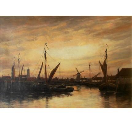 Johannes Hermanus KOEKKOEK, port de pêche