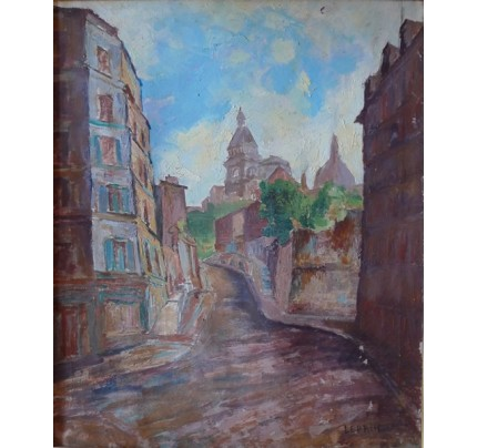Marcel LEPRIN, rues de village