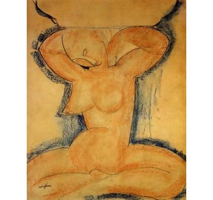 Modigliani, cariatide