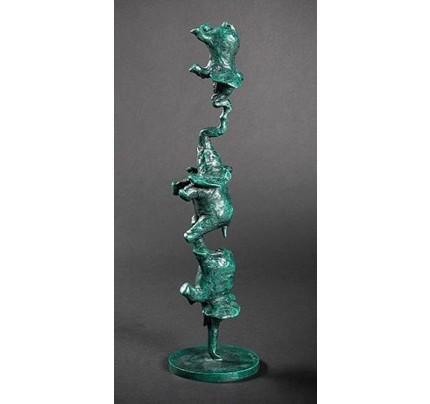 Philippe BERRY, sculpture de trois éléphants