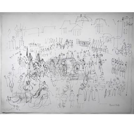 Raoul DUFY, la foule