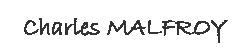 MALFROIX CHARLES